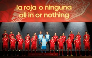 Spagna in rosso